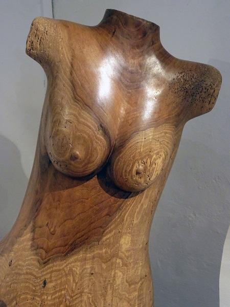 buste_Sculptures et Objets en Bois ©Olivier Legay