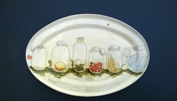Ceramique_Plat_Ovale_Terre_D_Etoile_mauzens_et_miremont ©EstelleFlorance