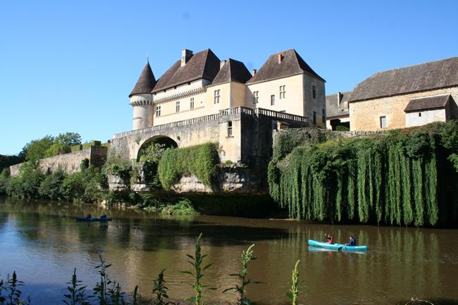 La Vézère au Château de Losse