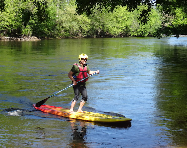 Paddle in Vezere valley