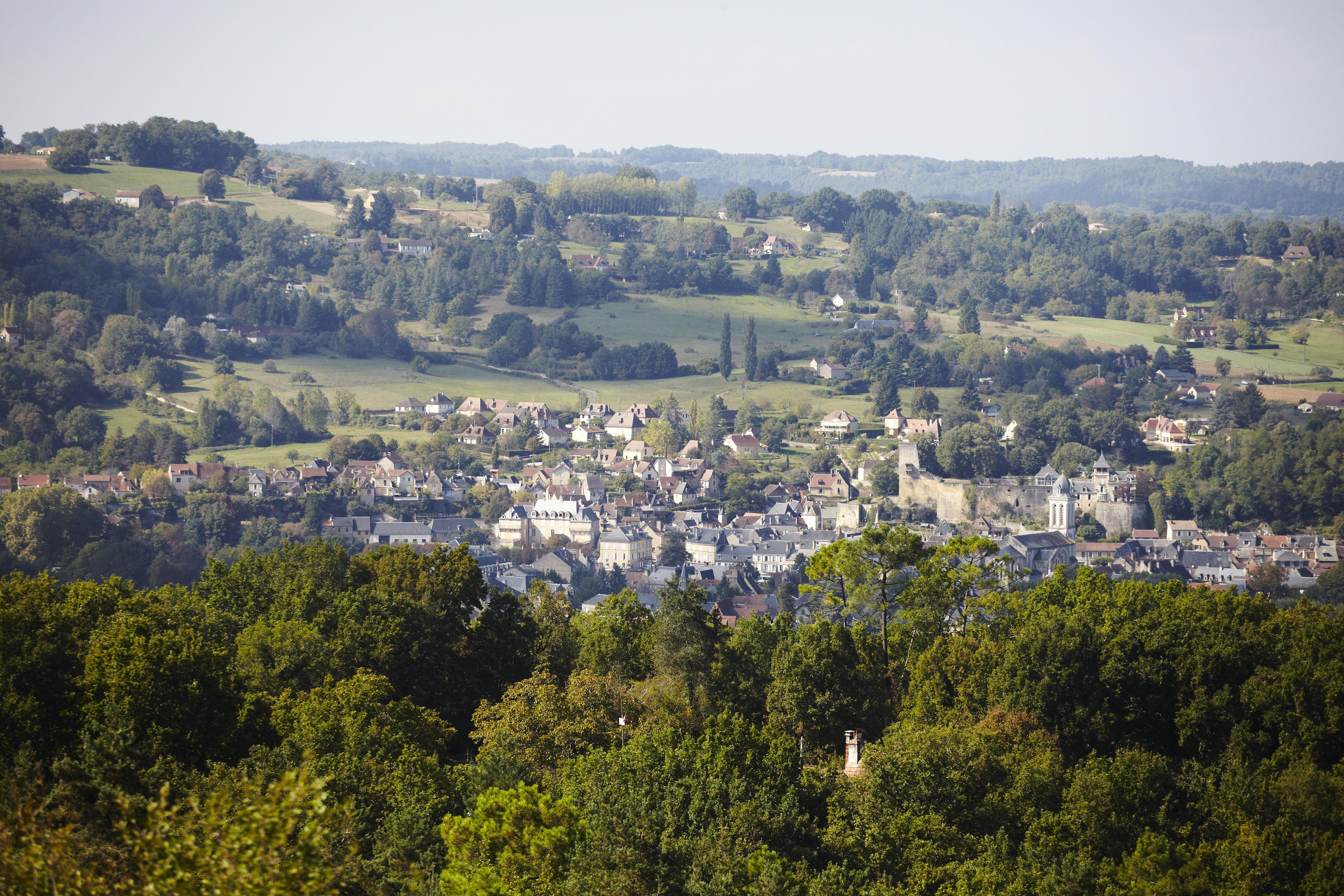 Vue de Montignac