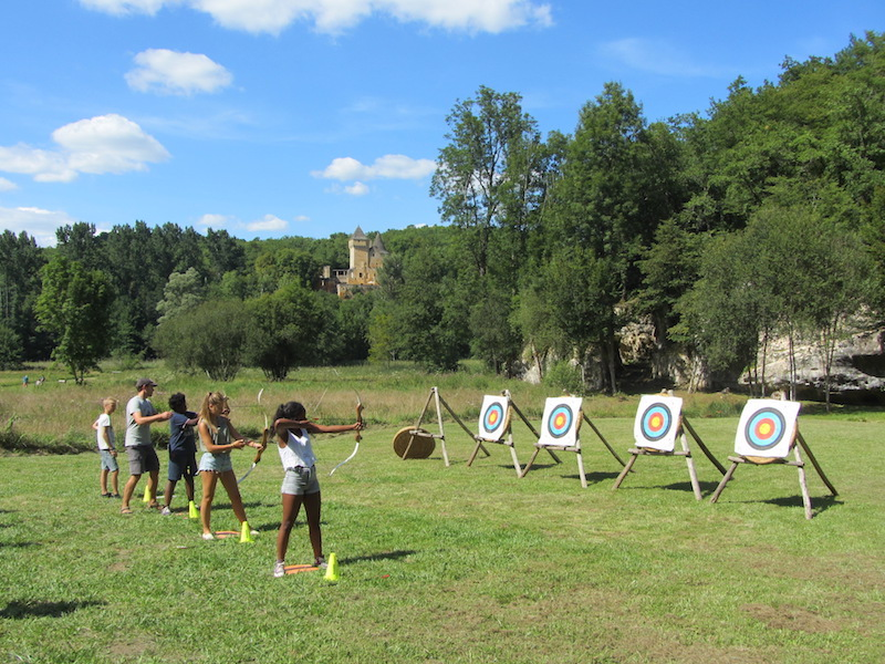 Archery in Vezere valley
