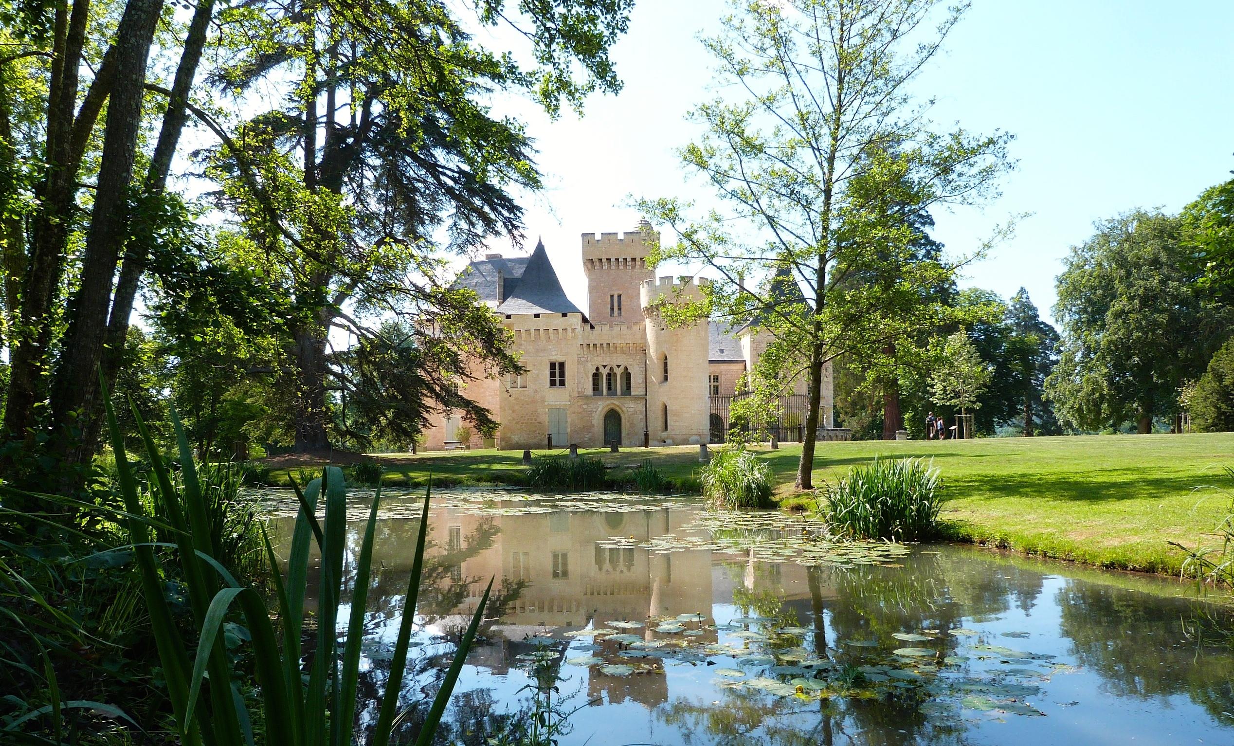 Parc château de Campagne ©Myriam G.