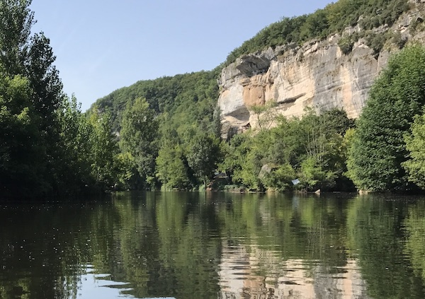 The Vezere river ©A;Borderie