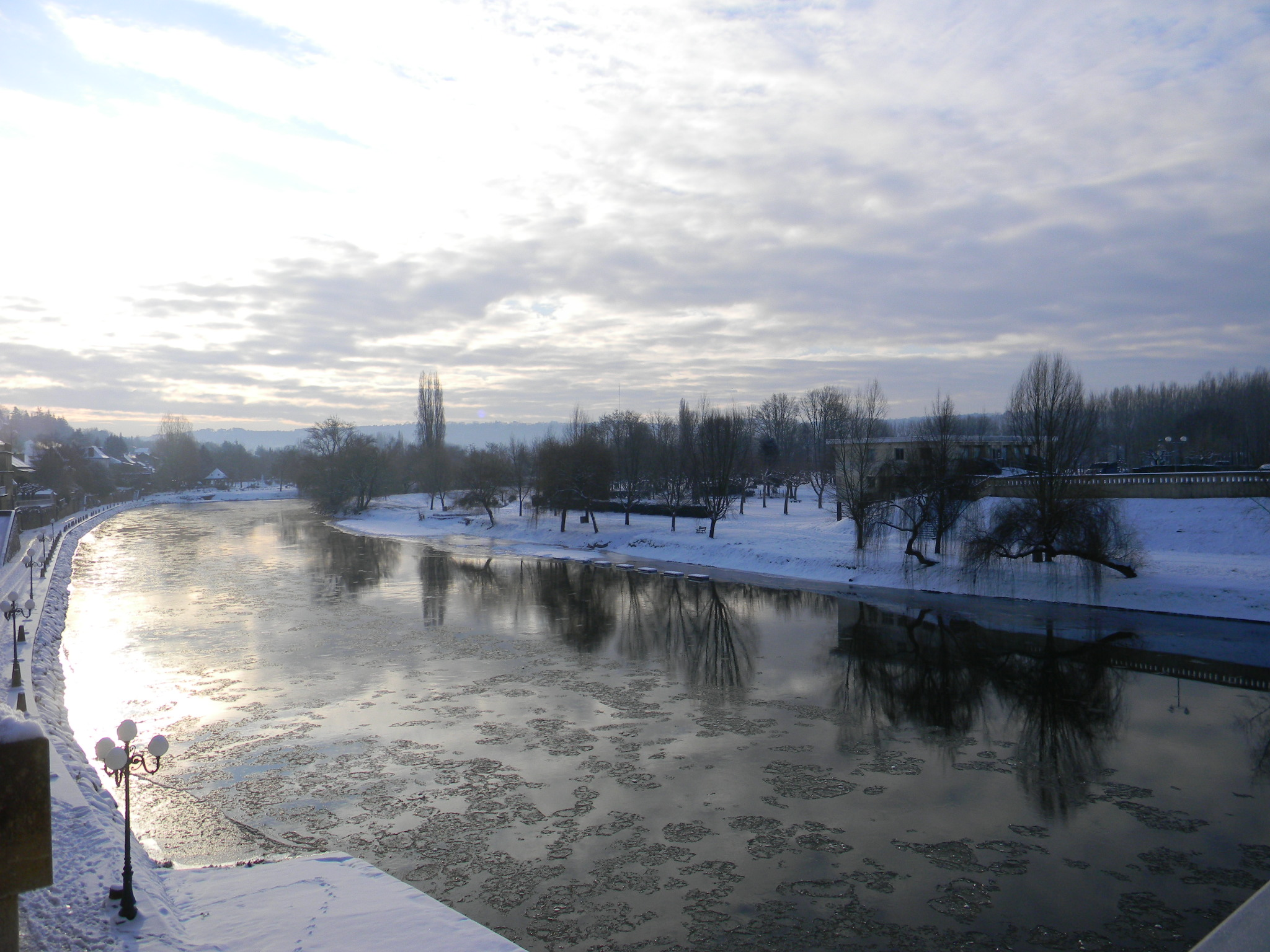 Winter in le Bugue