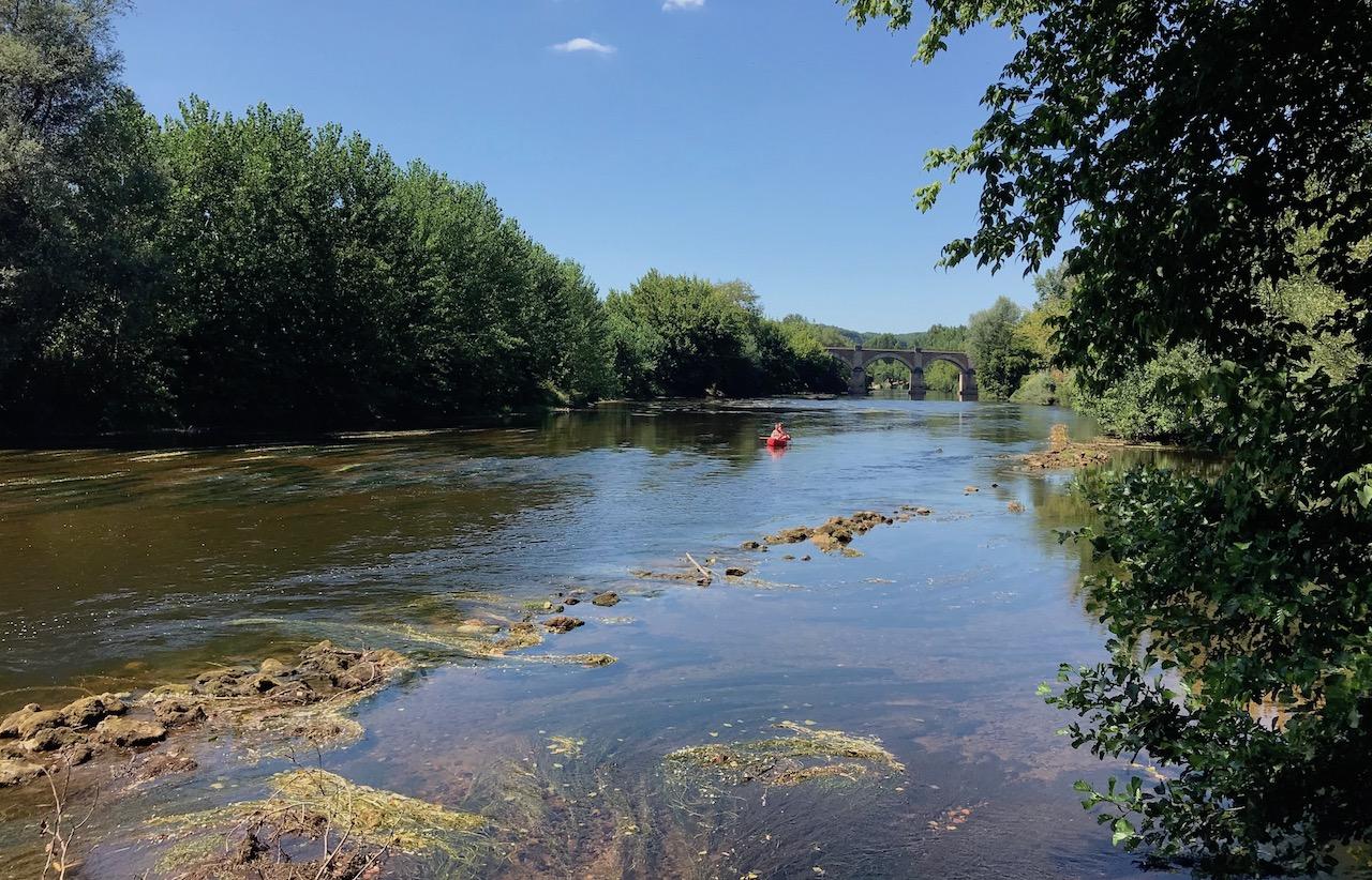La rivière Vézère