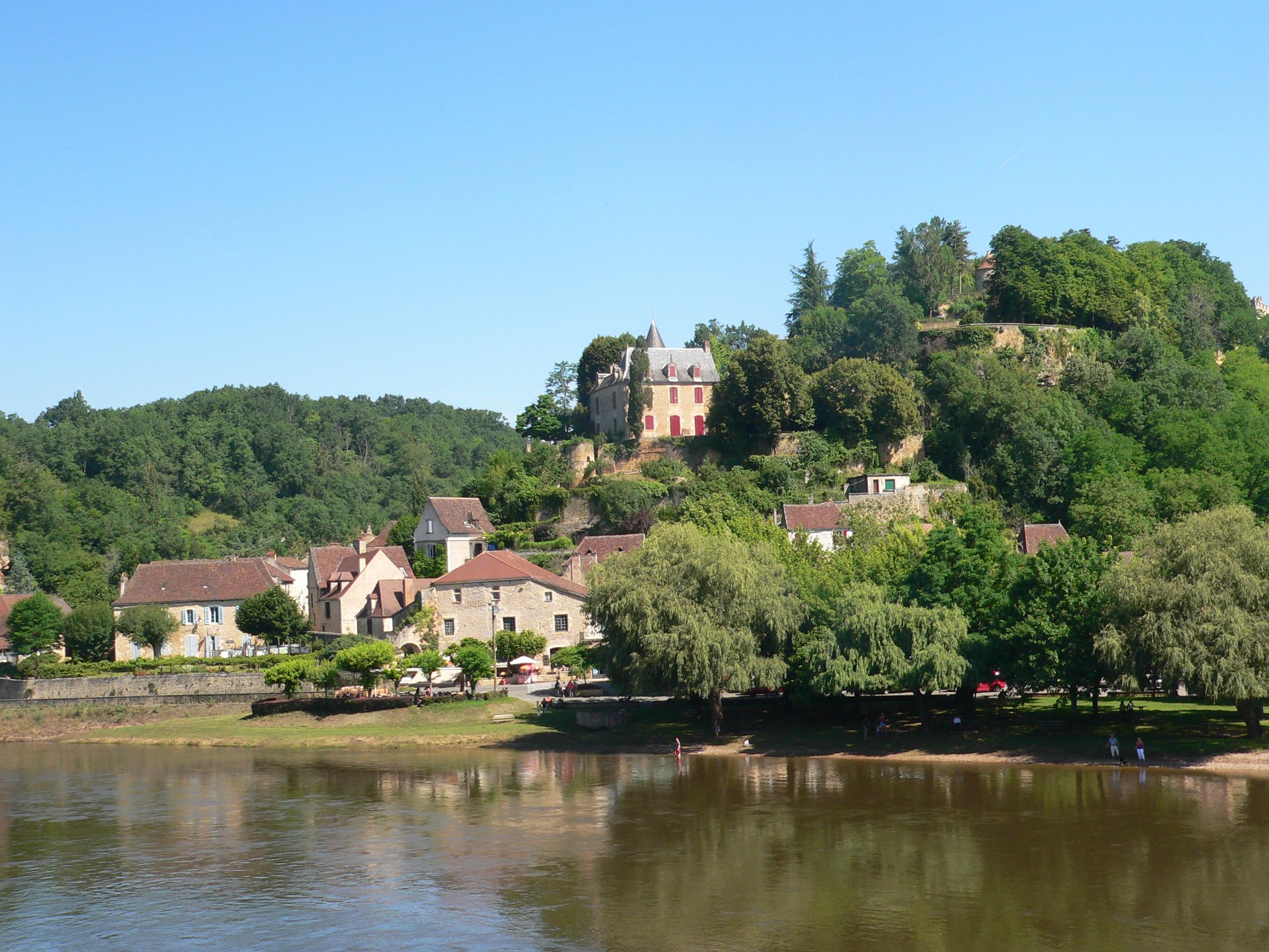 Village of Limeuil on Vezere valley