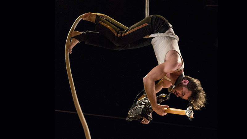 Cirque aérien Brikabrak 2017, Le Bugue
