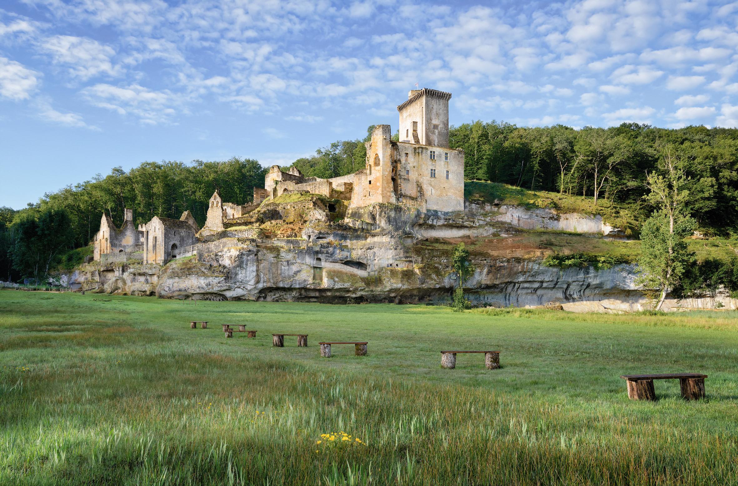 Chateau de Commarque ©Bernard Dupuy
