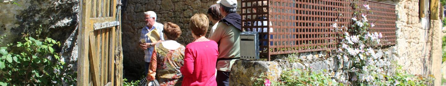 Greeters to discover Vezere valley ©A.Borderie
