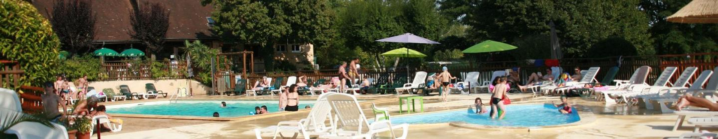 Piscine, Camping Brin d'Amour