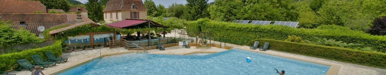 Camping la rivi re lascaux dordogne vos vacances en for Camping perigord noir piscine