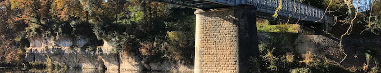 Pont de Saint Léon sur Vézère ©A.Borderie