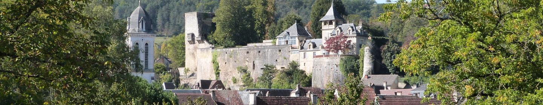 Montignac vue sur le château ©ALR