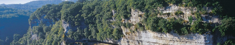 La Roque Saint Christophe ©Touron