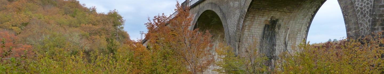 Pont , Savignac de Miremont