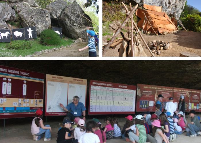Ateliers préhistoire en vallée Vézère