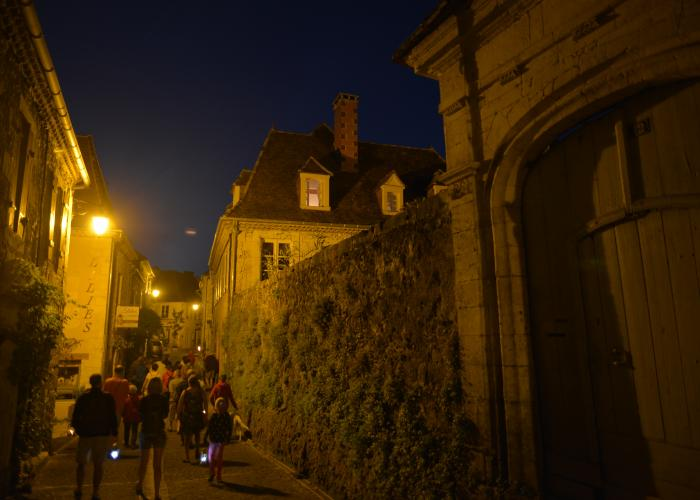 Visite nocturne Le bugue ©M. Serin