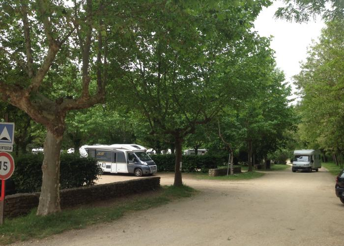 Aire camping-car Les Eyzies