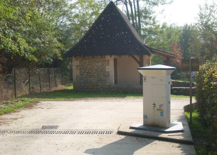 Air de camping-car Les eyzies