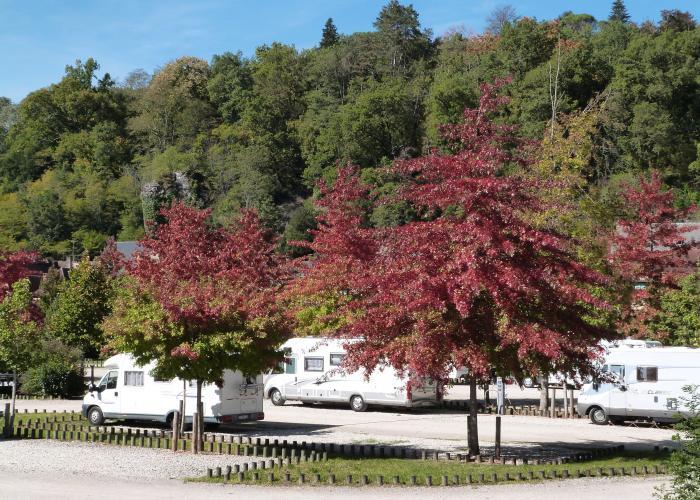 Aire de camping-car de Montignac ©ALR