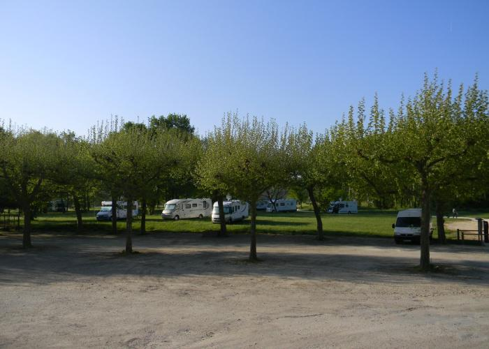 Aire camping-car Le Bugue