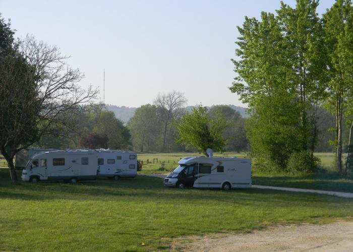 Aire de service - Camping-car - Le Bugue ©ALR