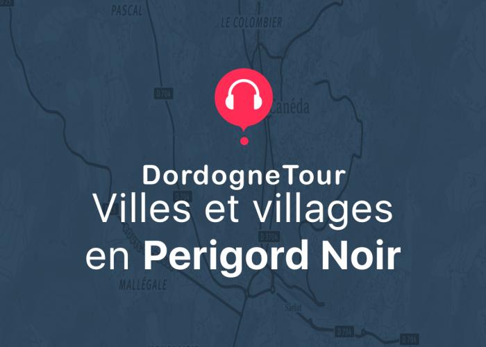 application gratuite Villes et Villages du Périgord.