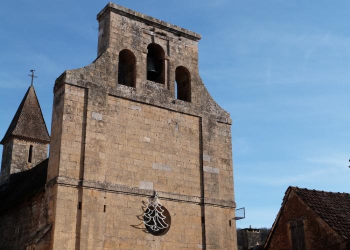 Aubas, church , decembre ©ALR