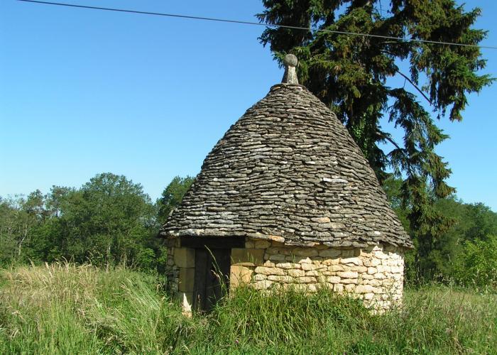 La chapelle Aubareil Borie