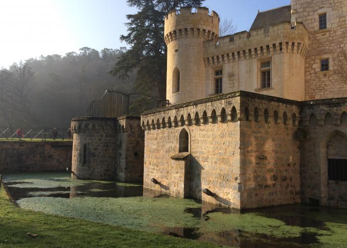 Castle park of Campagne Marathon des forts ©A.Borderie