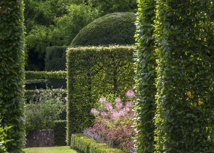 Jardin du château de Losse ©Losse