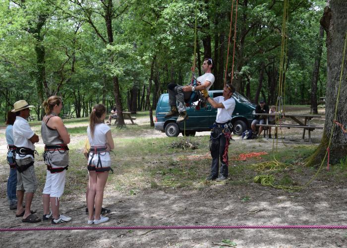 Grimpe d'arbre -Eté Actif- Eté actif - Forêt de Campagne