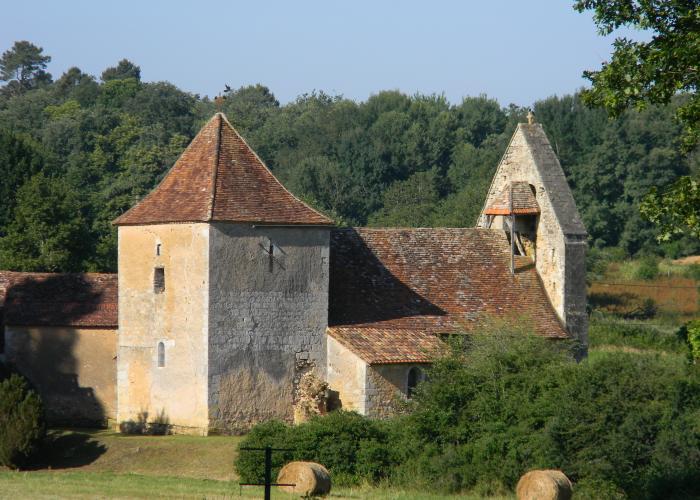 Church of Mortemart©ALR