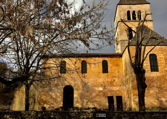 Church of Saint Léon sur Vézère on Vezere valley