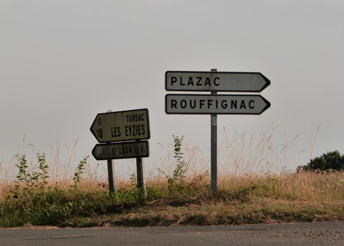 Sur la route entre Fanlac et Plazac©ALR