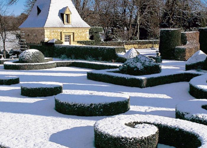 La vallée Vézère en Hiver - Jardin d'Eyrignac