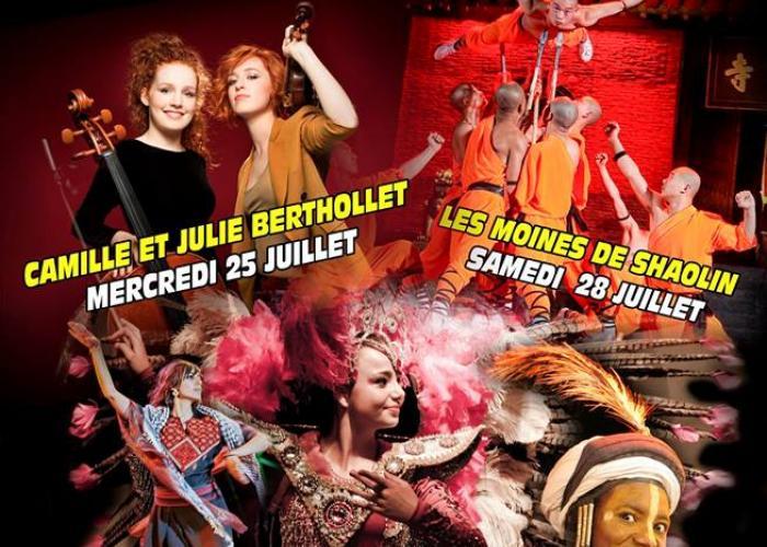 """Affiche du festival de Montignac """"Cultures aux coeurs"""" 2018"""