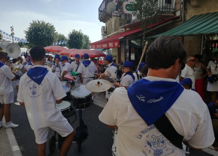 Bandas, Fête de la Saint-Louis, Le Bugue©ALR