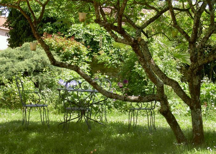 Jardines La chapelle Aubareil