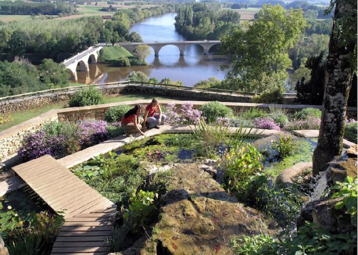 Jardin panoramique de Limeuil ©Au fil du temps