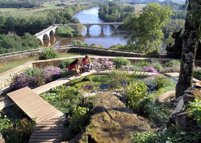 Jardins panoramiques de Limeuil ©Au fil du temps