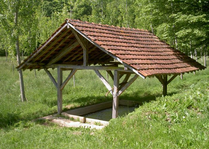 La chapelle Aubareil laundry