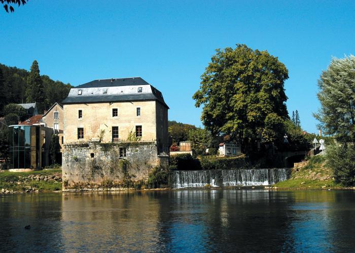 Le vieux moulin au Bugue en Dordogne-Périgord, proche des Eyzies et de Lascaux