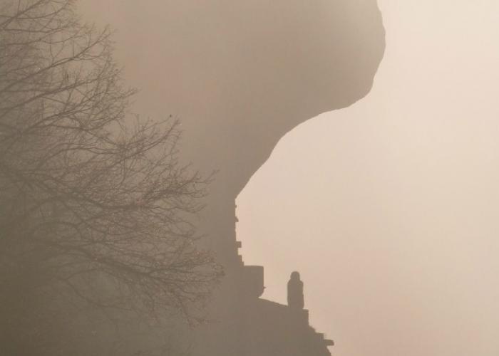 La vallée Vézère en Hiver - Les Eyzies