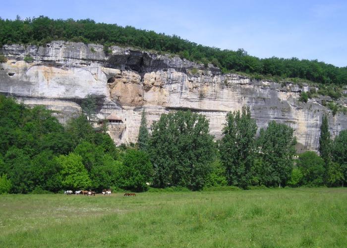 Les falaises du Grand-Roc Les Eyzies