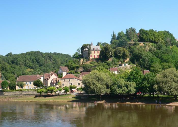 Village of Limeuil on Vezere valley