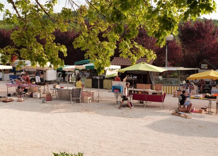 Plazac, marché ©ALR
