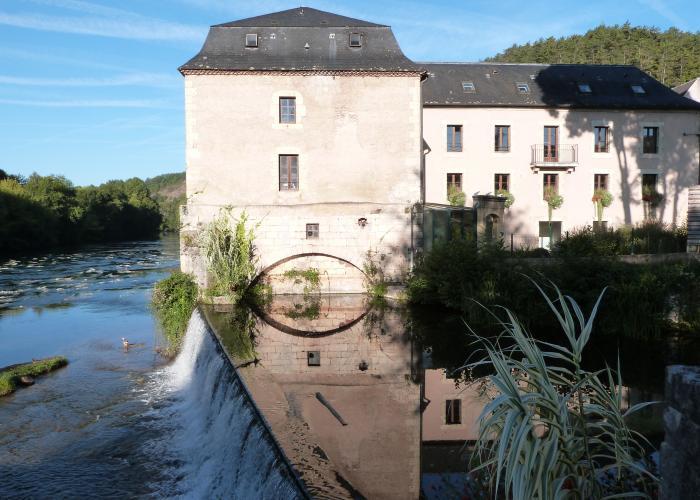 Village du Bugue, vallée Vézère