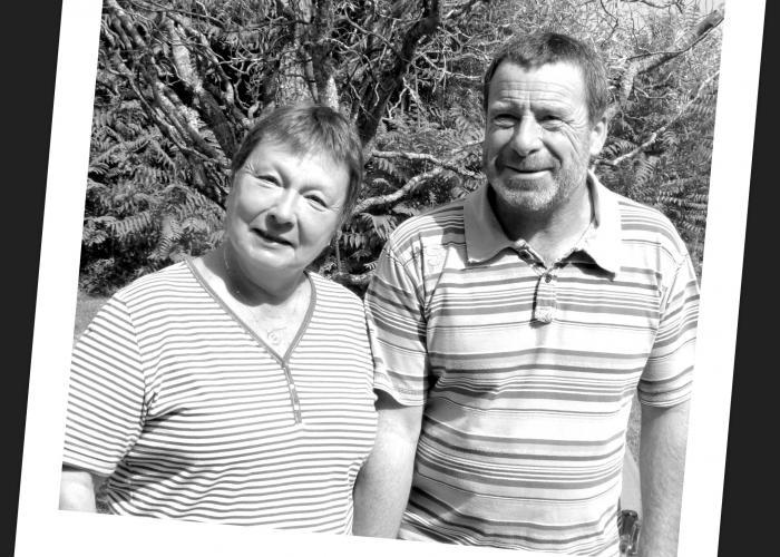 Sylvie & Norbert, les hôtes de La Rouchie